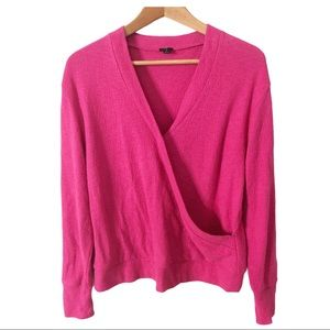 J. Crew Faux-Wrap in Textured Crepe Size Small